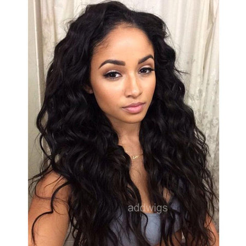 2018 Popular Lace Front Wigs Best Sale Loose Wave Human Hair Wigs