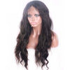 Natural Wavy 13*6 inches Deep Parting Lace Front Wigs For Black Women