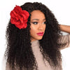 Kinky Curly 13*6 Deep Parting Lace Front Wigs Human Hair With Pre-plucked Natural Hairline