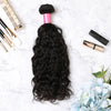 2 Bundles With Lace Closure Malaysian Human Hair Natural Curly Hair Weave With Closure