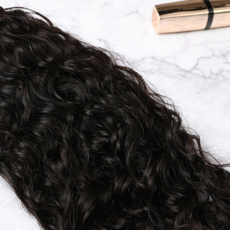 4x4 Lace Closure Malaysian Human Hair Natural Curly