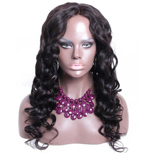 2020 Popular Silk Top Wig Loose Wave Silk Base Human Hair Wigs
