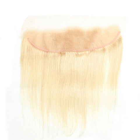 13x4 Lace Frontal #613 Blonde Human Hair Straight