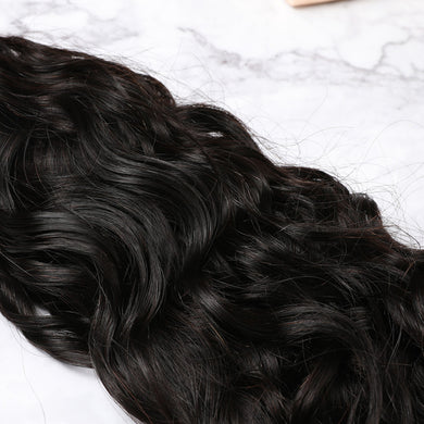 4x4 Lace Closure Malaysian Human Hair Natural Wave