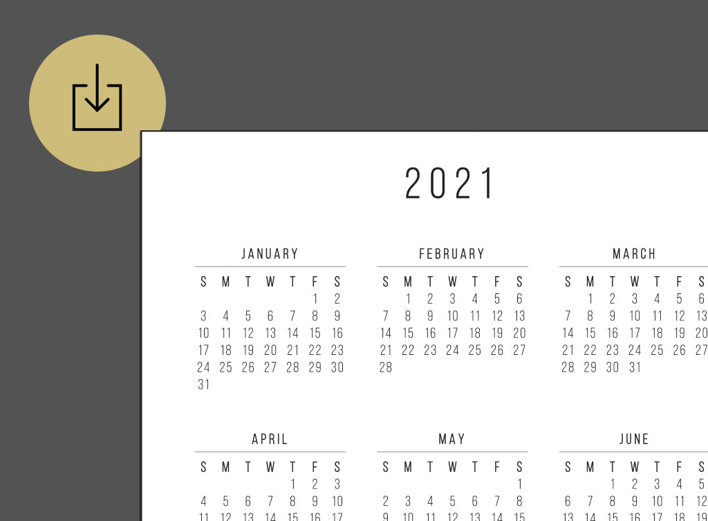 graphic about 2021 Calendar Printable named Lightspeed Planner 2021 Calendar (Printable)