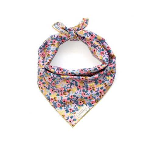 Clothes Companion Belle Classic-Tie Bandana for Dog Puppies and Pets