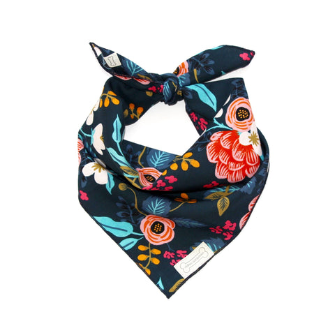 Clothes Companion Novaa Classic-Tie Bandana for Dog Puppies and Pets