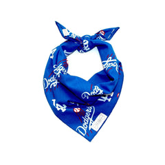 Clothes Companion Dodgers Baseball Classic Tie Dog Bandana