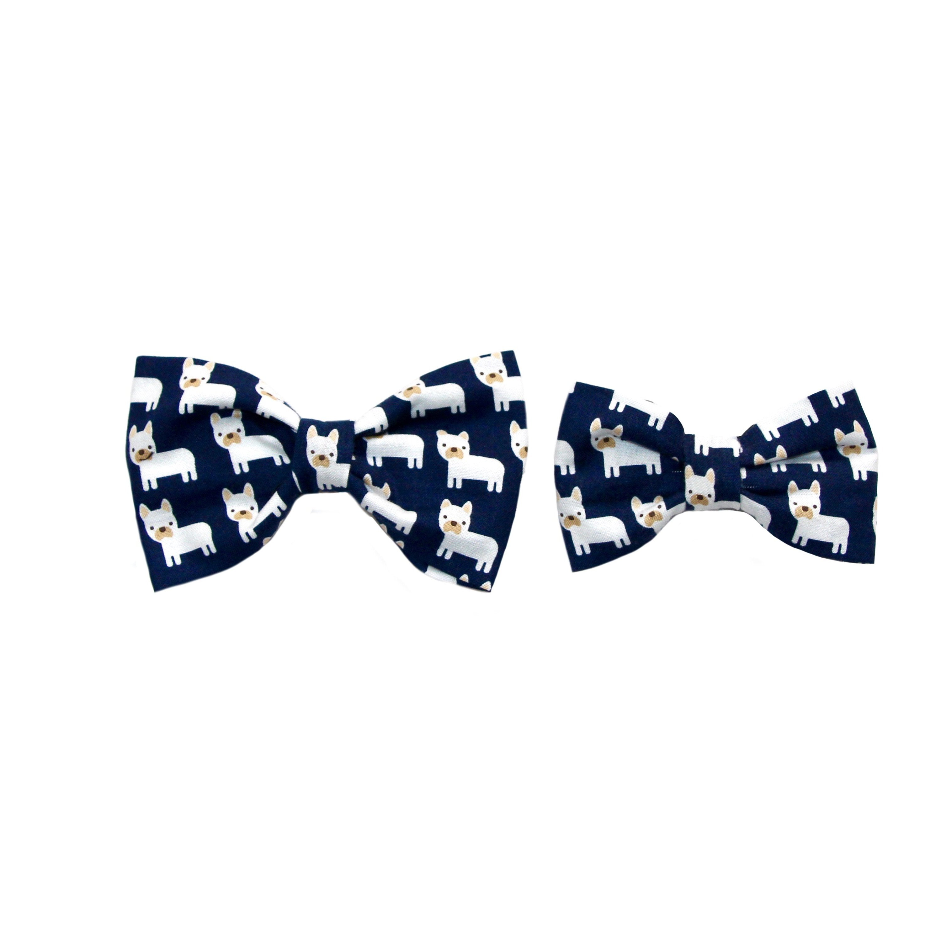 Clothes Companion Frenchie Dog Bow Tie