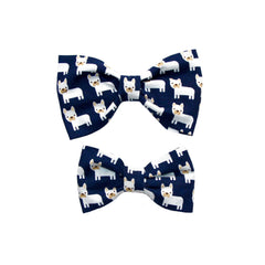 Clothes Companion French Bull Dog Bow Tie
