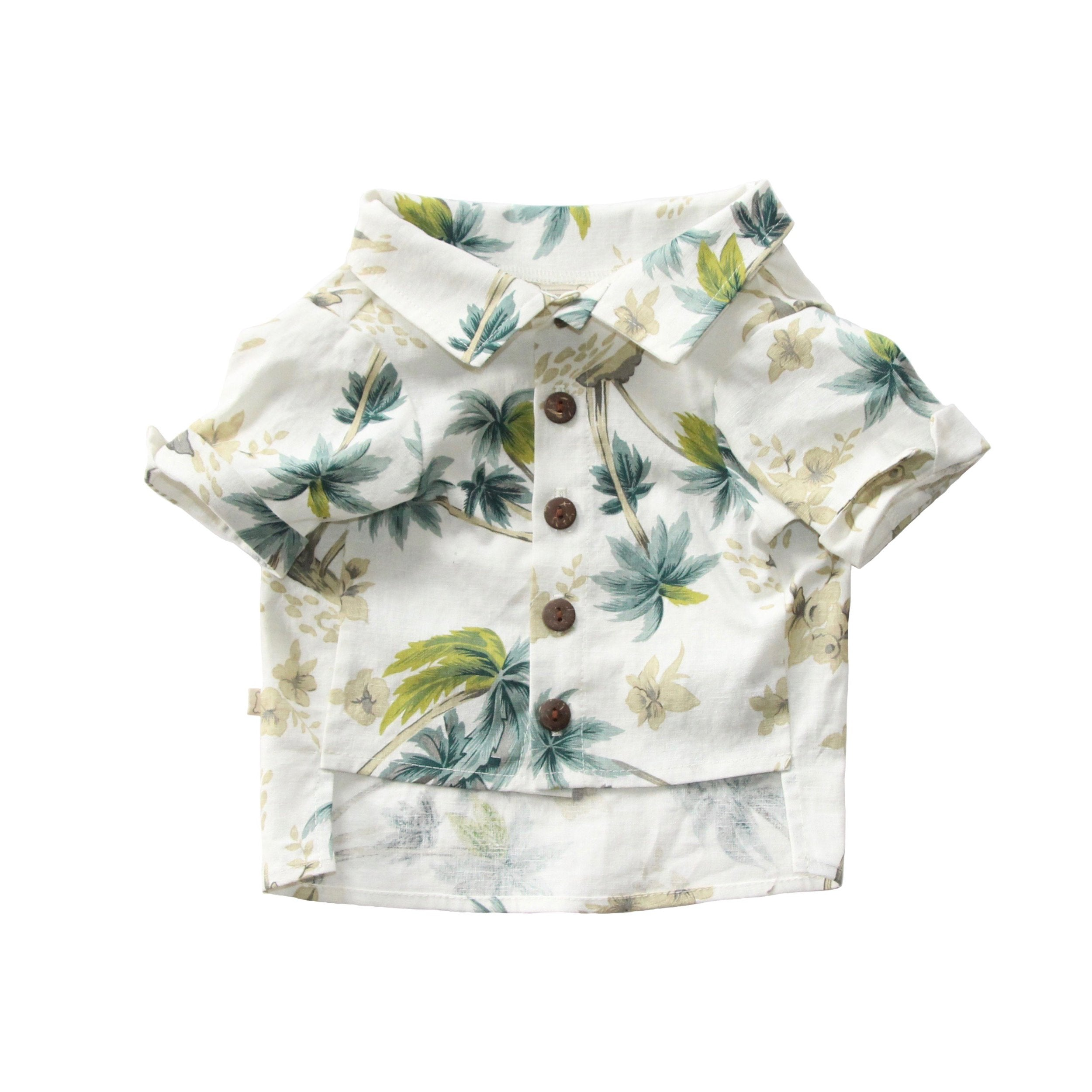Clothes Companion The Palms Button Dog Shirt