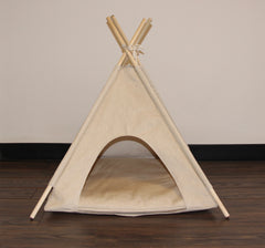Canvas Pet Teepee Dog Teepee and Cat Teepee