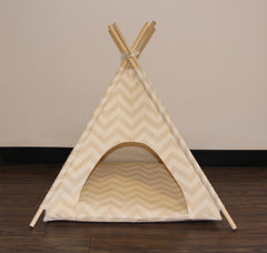 Chevron Pet Teepee Dog Teepee and Cat Teepee