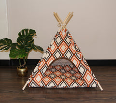Art Deco Pet Teepee Dog Teepee and Cat Teepee