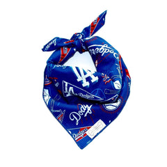 Clothes Companion Los Angeles Dodgers Baseball Classic Tie Dog Bandana