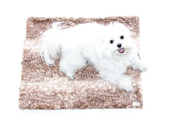Clothes Companion The Zoey Dog and Pet Faux Fur Blanket Crate Liner Dog Bed
