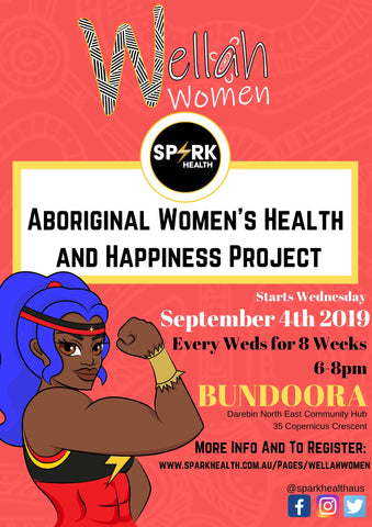 Wellah Women Aboriginal Spark Health Promotion Bundoora