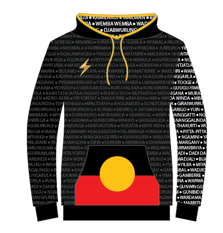 NAIDOC 2018 Hoodie Hoody Because of Her I can Spark Health