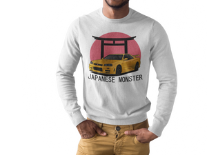 Japanese Monster Long Sleeve