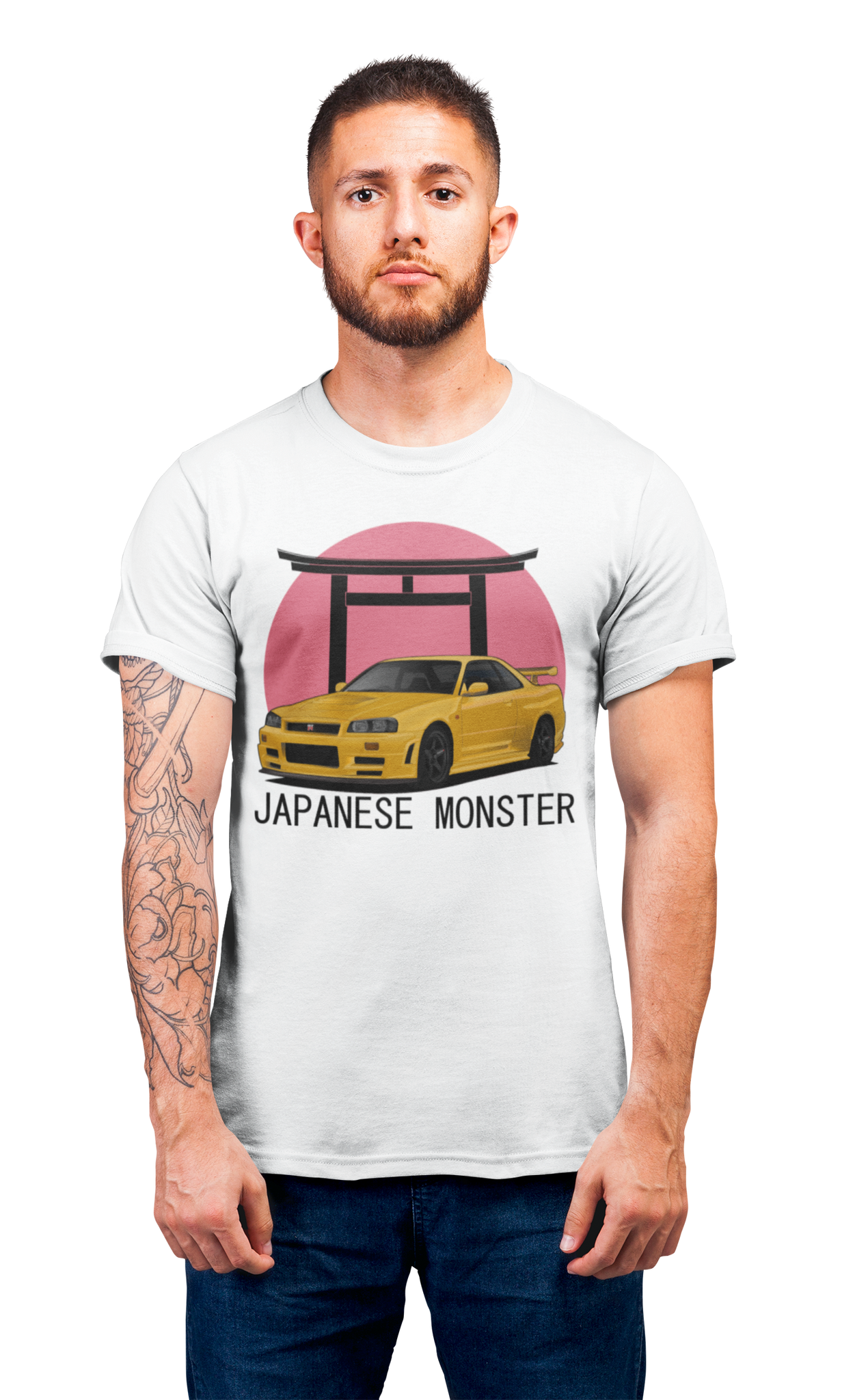 Japanese Monster T-Shirt