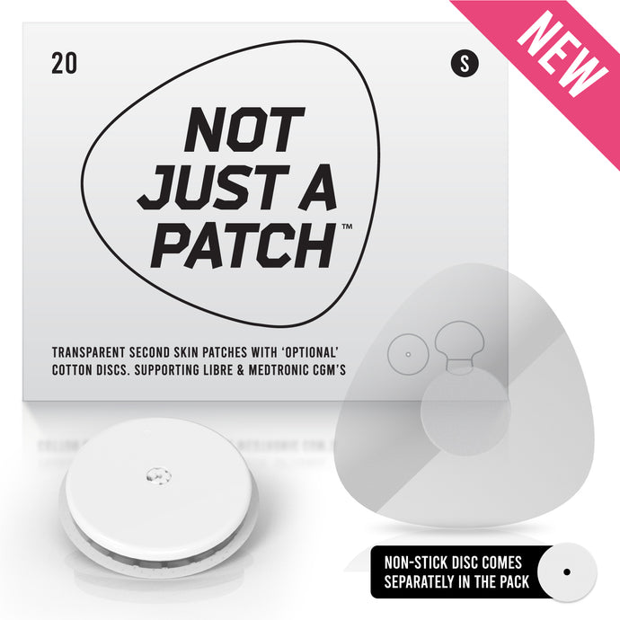 Not Just a Patch Clear - Freestyle Libre 1&2 - 20 Pack