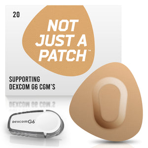 Not Just a Patch - Dexcom G6 - 20 Pack - Many Colours