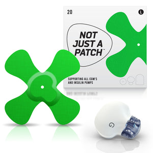 Not Just a Patch X-Patch - Enlite/Medtronic - 20 Pack - Many Colours