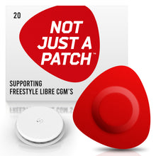 Not Just a Patch - Freestyle Libre 1/2 - 20 Pack - Many Colours