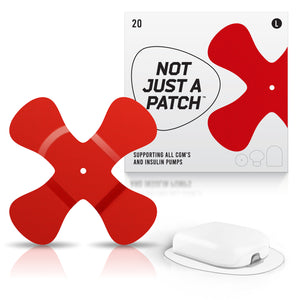 Not Just a Patch X-Patch - Omnipod - 20 Pack - Many Colours