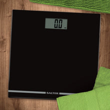 Salter Large Display Glass Electronic Bathroom Scale - Black