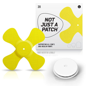 Not Just a Patch X-Patch - Freestyle Libre 1/2 - 20 Pack - Many Colours