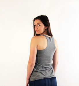 Ladies Racer Back Triblend Tank