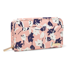 Myabetic Banting Wallet - Sunset Pink Blossoms