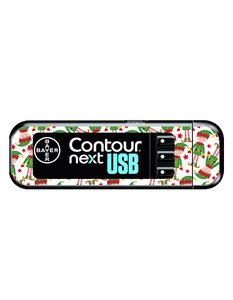 Bayer Contour Next USB Vinyl Sticker (Cheeky Elves)