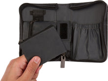 Clemens Diabetes Compact Wallet - Black Leatherette