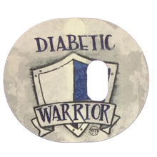 ExpressionMed Diabetic Warrior 2 Part Adhesive Patch Enlite/Guardian