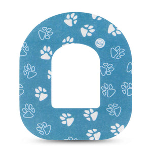 ExpressionMed Pawprint Adhesive Patch Omnipod