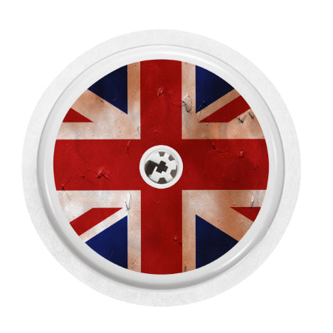 Freestyle Libre Sensor Cover (British Flag)