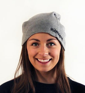 #LiveBeyond Slouchy Beanie