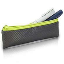 Insulated Pen Bag (Grey/Lime)