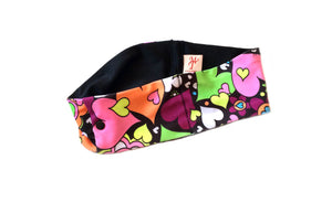 Hippy Hearts Super Slim Pump Waist Band Pouch