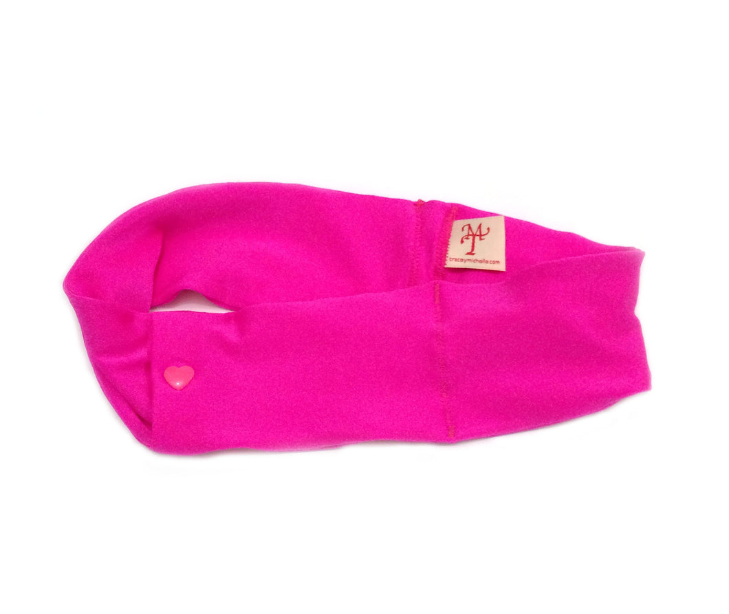 Hot Pink Super Slim Pump Waist Band Pouch