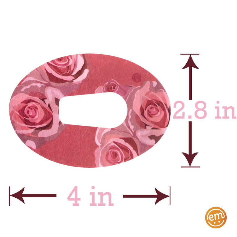 ExpressionMed Blush Rose Adhesive Patch G5/G6 Dexcom