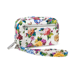 Myabetic James Diabetes Compact Case - White Multi Floral