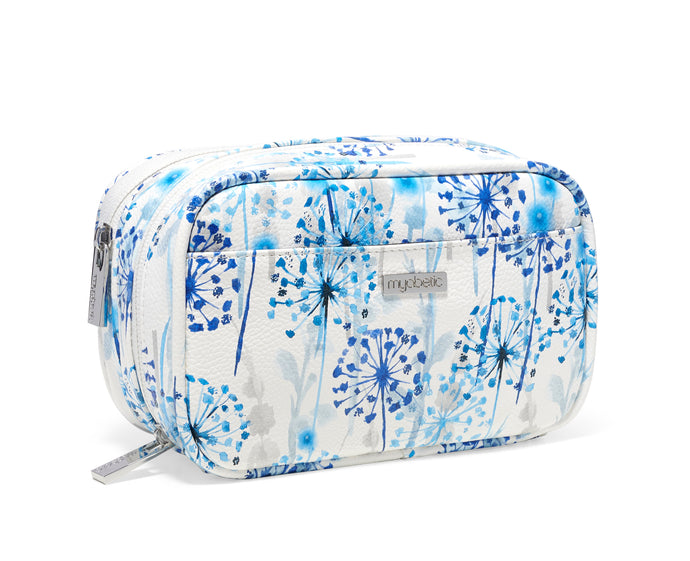Myabetic Kamen Diabetes Compact Case - Blue Dandelions