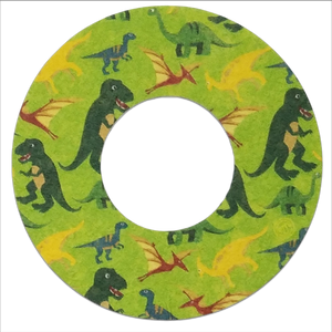 ExpressionMed Dinosaur Adhesive Patch Freestyle Libre