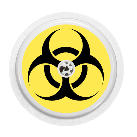 Freestyle Libre Sensor Cover (Biohazard)
