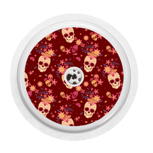 Freestyle Libre Sensor Cover (Candy Skulls)