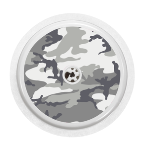 Freestyle Libre Sensor Cover (Snow Camo)