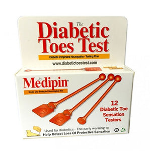 Medipin - The Diabetic Toes Test - 1 years supply